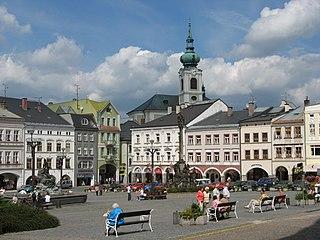 Trutnov Town in the Hradec Králové Region, Czech Republic
