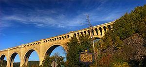 Nicholson Township, Wyoming County, Pennsylvania - Tunkhannock Viaduct