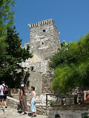 Bodrum Castle - Bodrum Castle's French Tower