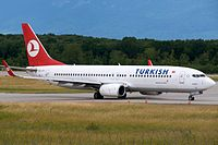 TC-JFY - B738 - Turkish Airlines