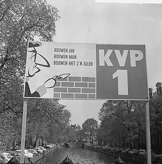 Catholic Peoples Party Dutch political party