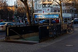 Spichernstraße (Berlin U-Bahn) - Entrance