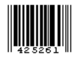 Universal Product Code - Image: UPC E