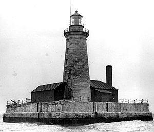 Spectacle Reef Light - U.S. Coast Guard Archive
