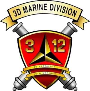 3rd Battalion, 12th Marines - 3/12 Insignia