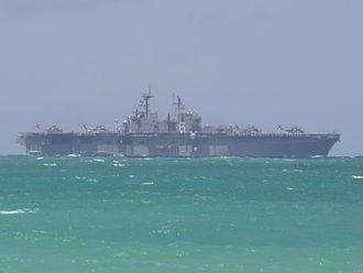 USS Bonhomme Richard (LHD-6) - Bonhomme Richard off Oahu, Hawaii