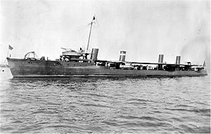 Fourth Battle of Topolobampo - USS Preble