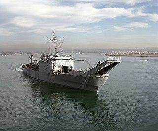 USS <i>Peoria</i> (LST-1183) Newport-class tank landing ship