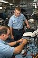US Navy 030520-N-2911P-004 Sailors troubleshoot an Inter-Communications Set (ICS) jack box.jpg