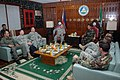 US Navy 070505-N-8391L-010 Commander Special Operations Command, Pacific, Major Gen. David Fidovich, center, visits with Commander Western Mindinao Command, Gen. Eugenio Cedo.jpg