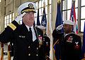 US Navy 090109-N-1522S-001 Rear Adm. Townsend G. Alexander passes through side boys.jpg