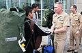 US Navy 100224-N-8191S-001 Capt. Mark E. Brouker, commanding officer of Naval Hospital Bremerton and Capt. Ken Iverson, executive officer of Naval Hospital Bremerton.jpg
