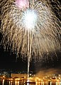 US Navy 100604-N-5538K-001 Fireworks explode over Fleet Activities Sasebo during a 50th anniversary celebration of the Japan-U.S. Treaty of Mutual Cooperation.jpg