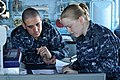 US Navy 110328-N-SF508-015 Sailors aboard the Ticonderoga-class guided-missile cruiser USS Shiloh (CG 67).jpg