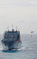 US Navy 111213-N-FH966-042 A helicopter conducts a vertical replenishment.jpg