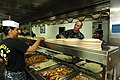 US Navy 120204-N-WL435-122 Chief of Naval Operations (CNO) Adm. Jonathan Greenert has lunch with the crew aboard the amphibious assault ship USS Wa.jpg