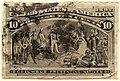 US stamp 1893 10c Columbus Presenting Natives.jpg