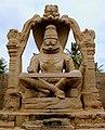 Ugranarasimha statue at Hampi dtv.JPG