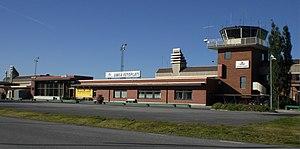 Umeå Airport - Image: Umeå Flygplats 20080726