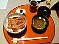 Unadon by rhosoi in Nishiki Ichiba, Kyoto.jpg