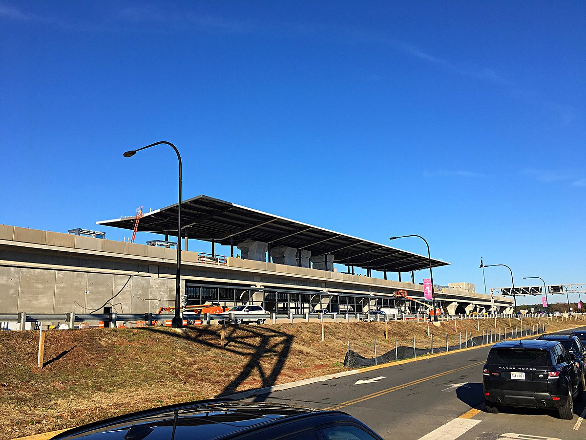 Dulles International Airport station Wikipedia