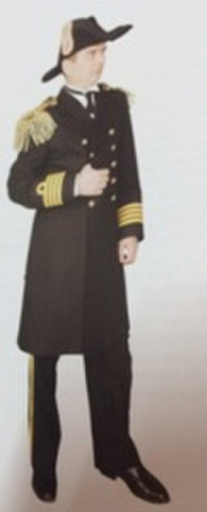 Turkish Naval Forces - Turkish ceremonial uniform from the 1940s.