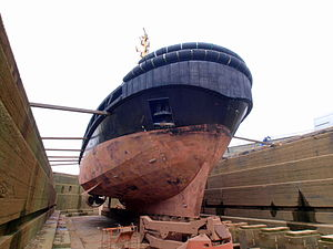 Union Grizzly in dry-dock of Antwerp pic4.JPG