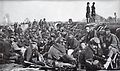Union infantrymen prepare for orders to charge the fortifications of Chancellorsville, Virginia.jpg