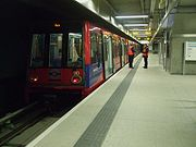 Unit 90 at Woolwich Arsenal DLR