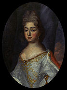 Unknown (maybe French) artist - Portrait of Teresa Kunegunda Sobieska - Google Art Project