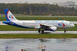 Ural Airlines, VQ-BFV, Airbus A320-214 (29791070182).jpg