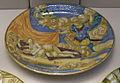 Urbino, francesco xanto avelli, piatto con marte, venere e cupido, 1532.JPG
