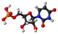 Uridine monophosphate 3D ball.png