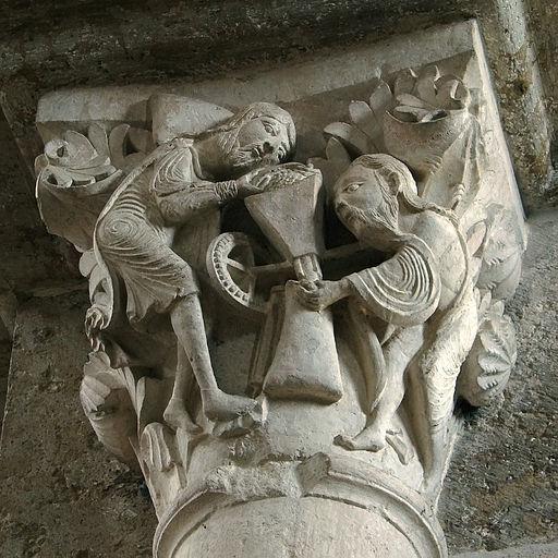 Vézelay Nef Chapiteau 220608 O6