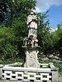 Věžnice, socha Jana Nepomuckého.jpg