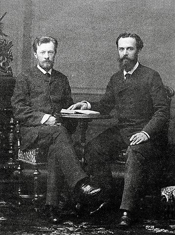 Владимир Шухов иАлександр Бари (1880-е)