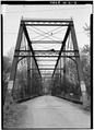 VIEW SHOWING EAST PORTAL - Feederdam Bridge, State Route 59, spanning Eel River, Clay City, Clay County, IN HAER IND,11-CLACI.V,1-2.tif
