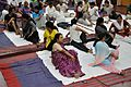 Vakrasana - International Day of Yoga Celebration - NCSM - Kolkata 2015-06-21 7373.JPG