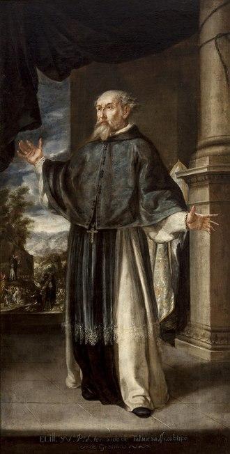 Hernando de Talavera - Juan de Valdés Leal: Fray Hernando de Talavera, Museo de Bellas Artes de Sevilla
