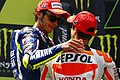 Valentino Rossi and Dani Pedrosa 2015 Catalunya.jpeg