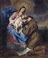 Van Dyck - La Madonna col bambino e Sant'Antonio da Padova, 1630 - 1632.jpg