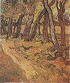Van Gogh - Garten des Hospitals Saint-Paul mit Figur.jpeg