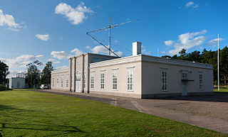 Grimeton Radio Station working life museum in Varberg Municipality, Sweden