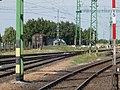 Vasútállomás, pft. terület, megfigyelő, 86-os út átjáró 2019 Csorna.jpg