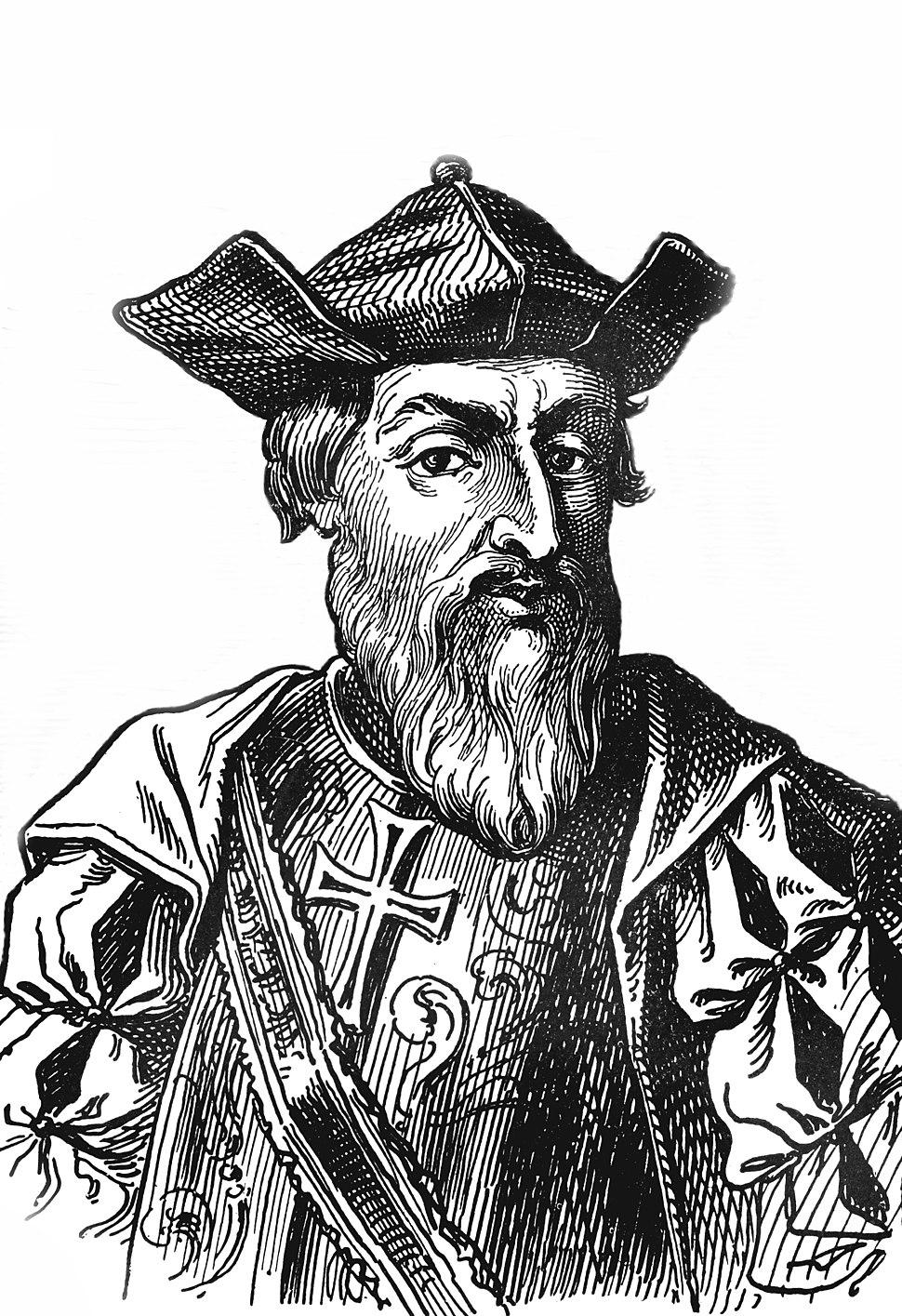 Vasco da Gama (without background)