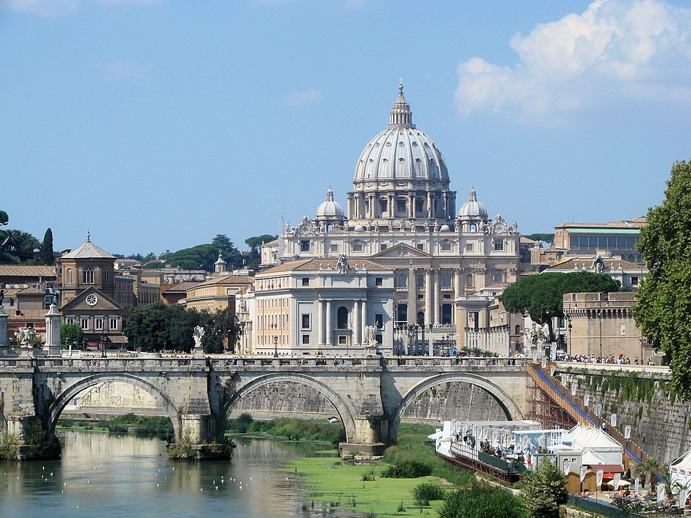 Vatican from river