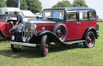 Vauxhall Cadet - Grosvenor saloon de luxe £325 1933
