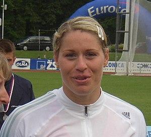 Věra Pospíšilová-Cechlová - Image: Vera Cechlova Pospisilova CZ championships in athletics Kladno 2005