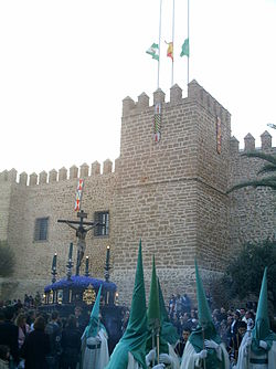 Castillo de Luna during Good Friday