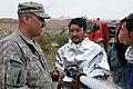 Vermont firefighter trains ANP in Bamyan.jpg
